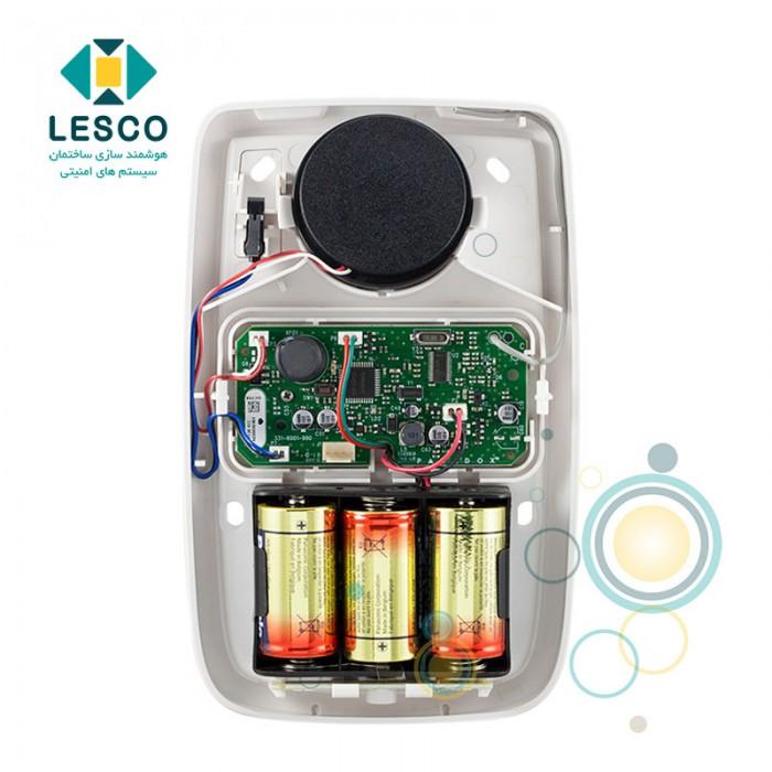 آژیر فلاشر بی سیم با باتری ، بدون نیاز به برق Ac، مخصوص فضای داخل وخارج