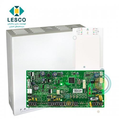 کنترل پنل 5 زون با سیم با قابلیت 2 برابر شدن + کی پد K10v + جعبه فلزی