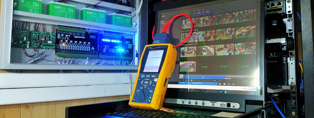 تخمین تعداد دوربین مدار بسته در پروژه